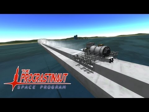 The Procrastinaut Space Program 126 - go go rocket train!!