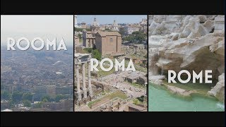 Rooma - Roma - Rome / June 2017 / 4K
