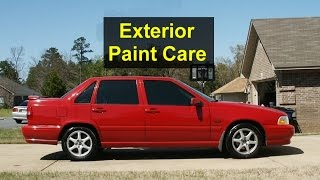 How to keep your car paint looking good - Auto Care Series