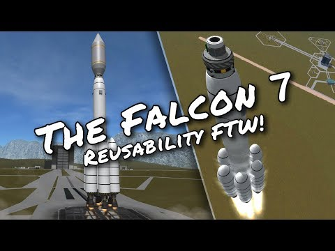 KSP 1.3 Galileo's Planet Pack - Ep 6 - Life Support and Reusable Launch System