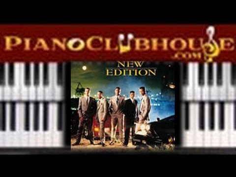 How To Play Can You Stand The Rain By New Edition Easy Piano