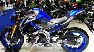 2017 Kawasaki Z900 ABS  สีน้ำเงิน Candy Plasma Blue ราคา 429,000 บาท