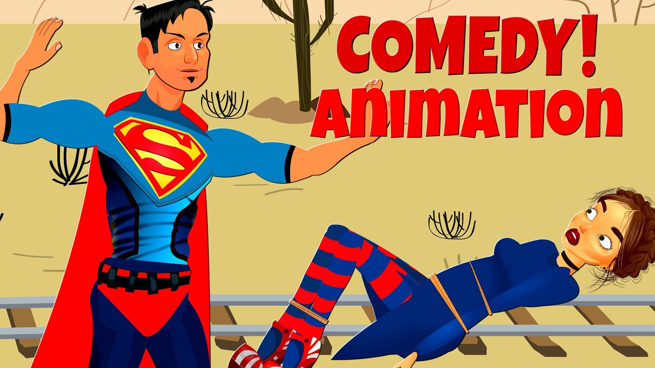 Superman Comedy animation!