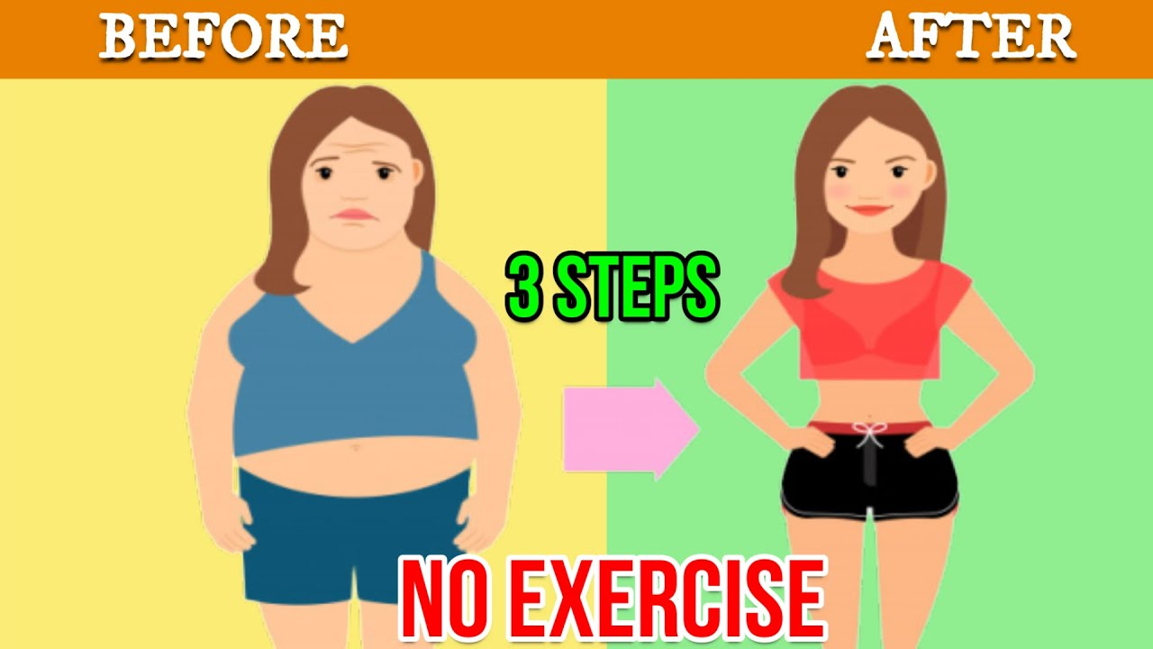 How To Lose Weight Fast In 3 Steps Without Exercise? | Diet Plans For Weight Loss | Dr. Rabindra