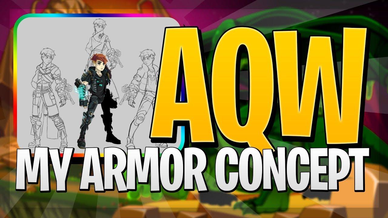 AQW - THE ZARAT ARMOR!! (Concept Art)