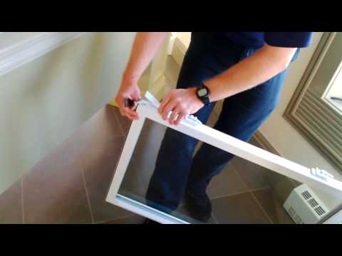How to Change Single Hung Sash Hardware