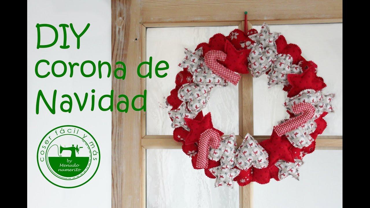 adornos de navidad diy una corona o guirnalda para casa ForAdornos De Navidad Para Hacer En Casa