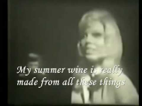 Nancy Sinatra & Lee  SummerWine (lyric)