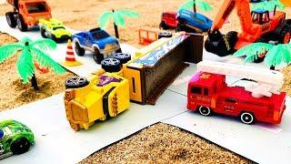 Carritos de Carreras para Niños - Choque de Coches Infantiles  - Toys Cars for Kids