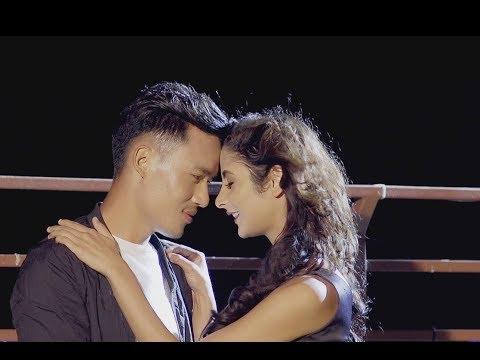 National Football Player Bikram Lama 1st Time in Music Video - Aakha Haru - Kebi Rai | Nepali Song