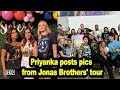 Wives on tour: Priyanka posts pics from Jonas Brothers' tour   hi INDiA LIVE Entertainment