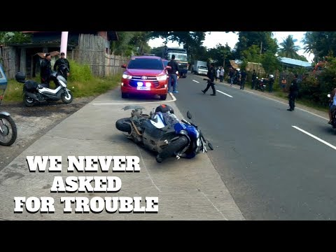 Eastern Visayas AdvenTour Ep10: MAN DOWN│Danger Everywhere│How to PROTECT yourself│Rider's Life