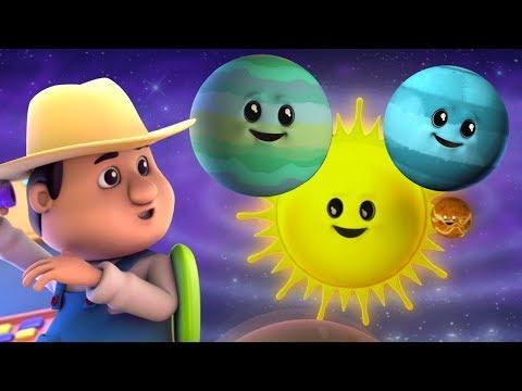 เพลงดาวเคราะห์ | เนอสเซอรี่คล้องจอง | เรียนรู้ชื่อดาวเคราะห์ | Solar System Rhyme | Planets Song