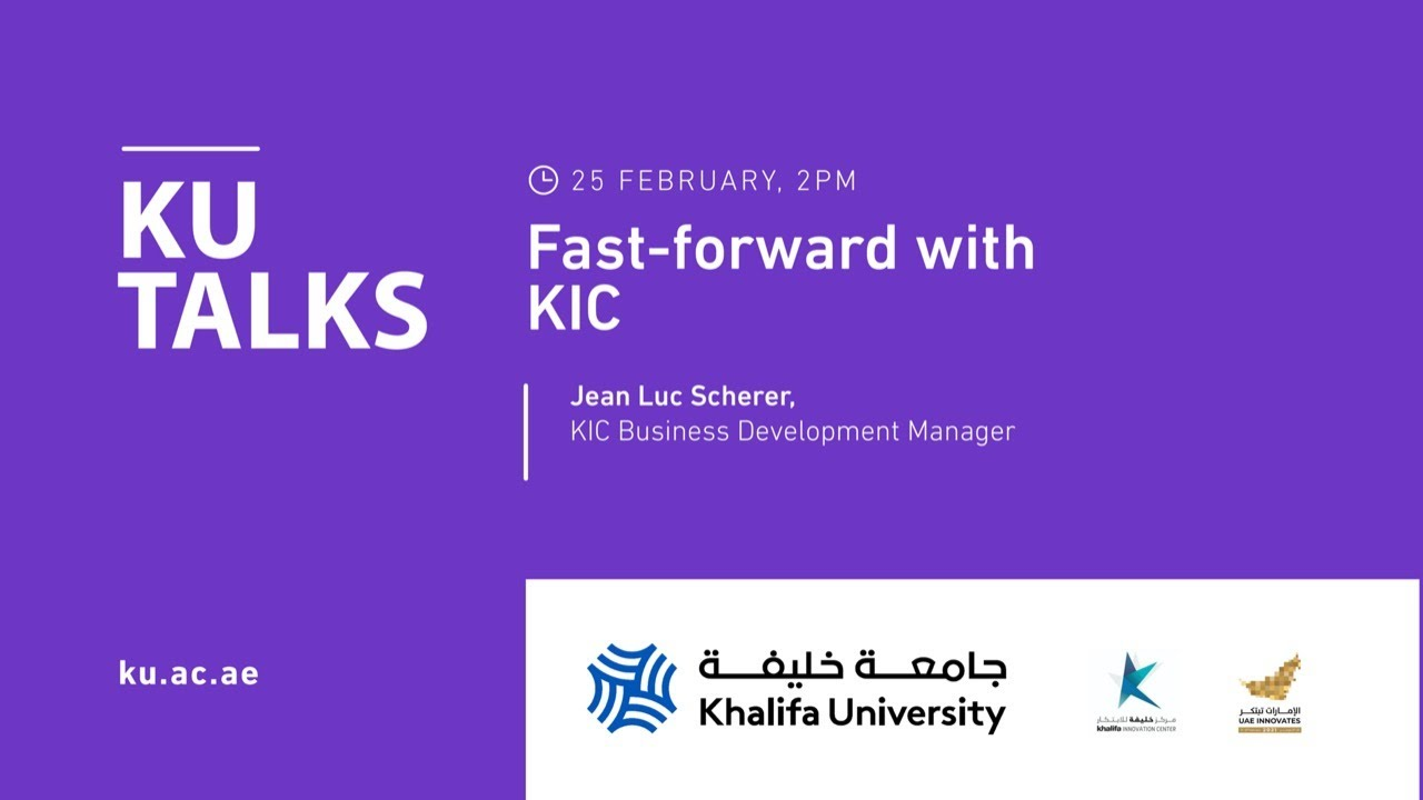 Fast-forward with KIC  by Jean Luc Scherer