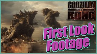 Godzilla vs Kong FIRST LOOK Footage and NEW Release Date