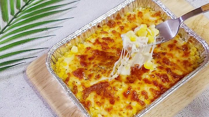 (에어프라이어) 백종원 콘치즈 만들기 | 식당에서 먹던 바로 그 맛 🌽 | Corn Cheese Recipe | 앨리스쿡 Alice Cook