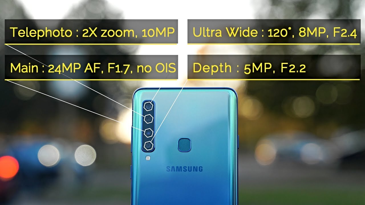 Samsung Galaxy A9 2018 Camera Review Worlds First 4 Camera Phone