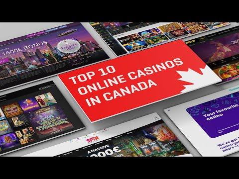 TOP 10 ONLINE CASINOS IN CANADA | Gambling In Canada