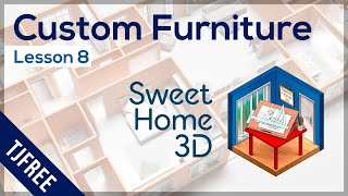 Sh3d Lesson 8 - Import Furniture And Textures
