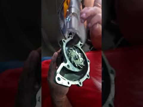 How to replace a 06 Buick Lucerne 3.8L 6cyl Water Pump