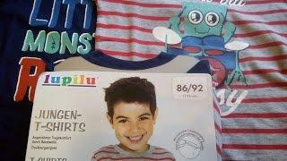 Обзор детских футболок из магазина Lidl