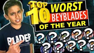 Beyblade Burst : Top 10 Worst Beyblades of the Year
