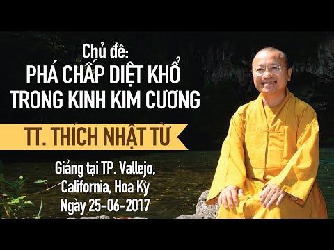 Phá chấp diệt khổ trong kinh Kim Cang - TT. Thích Nhật Từ