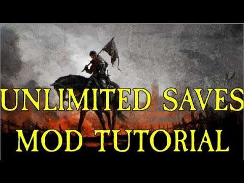 How To Get Unlimited Saves Kingdom Come Deliverance PC Only (Mod Tutorial)