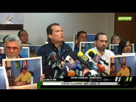 Venezuela. PJ exige justicia por muerte de Concejal Carlos García - VPITV