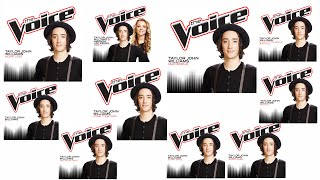 Taylor John Williams - The Voice Season 7 Studio Recordings (complete)