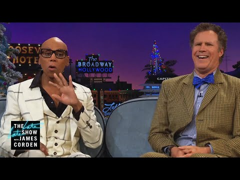 Will Ferrell & RuPaul Approach Eating Very Differently
