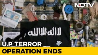 ISIS Flag, Train Time Table Found Near Lucknow Terror Suspect's Body