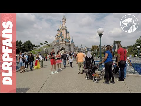 Disneyland Paris Complete Tour of Disneyland Park