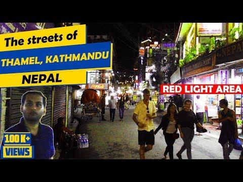 Walking the Streets of Thamel, Kathmandu, Nepal Thamel Kathmandu Nightlife