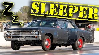 TURBO Malibu - 8 Second SLEEPER!