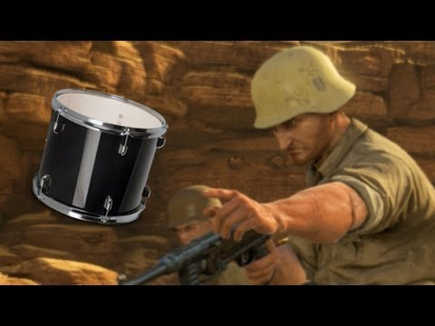 THEY CAME WITH DRUMS (Sniper Elite 3) | Funny Gaming Moments |
