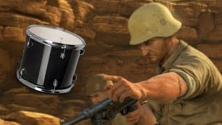 THEY CAME WITH DRUMS (Sniper Elite 3) | Funny Gaming Moments