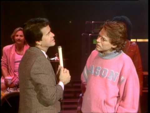 Dick Clark Interviews Robert Palmer - American Bandstand 1985