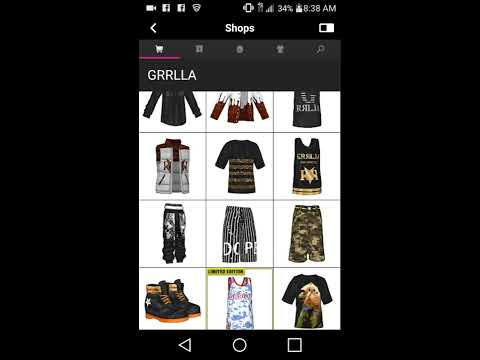 How to get free grilla t shirt on meez nation