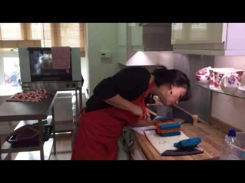 Union Jack Battenburg Cake