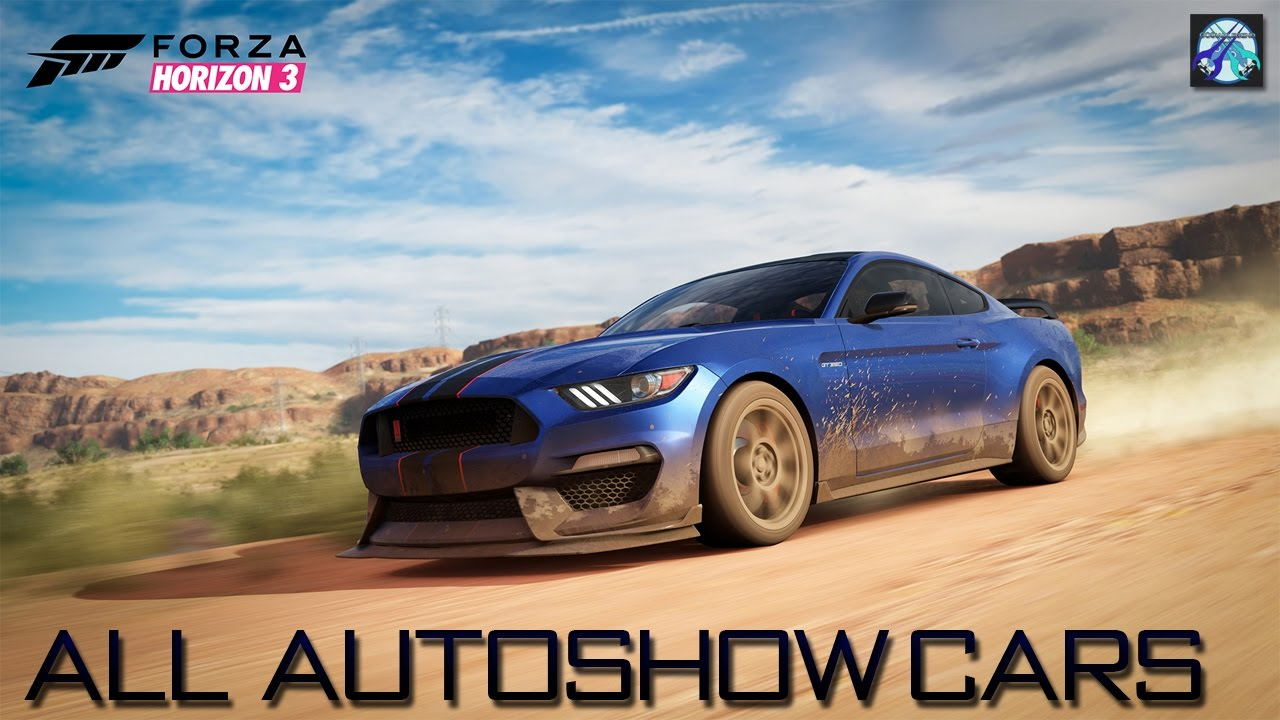 forza horizon 3 all autoshow cars prices youtube. Black Bedroom Furniture Sets. Home Design Ideas