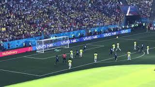 ワールドカップ2018予選 日本×コロンビア 香川選手ゴールの瞬間です! ...