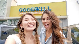 UGLY THRIFT STORE CHALLENGE (we tried ¯\_(ツ)_/¯)