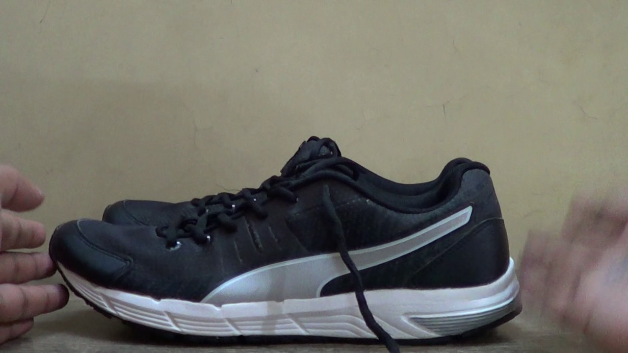 ca672266052a Puma running shoe review and wearing experience - YouTube
