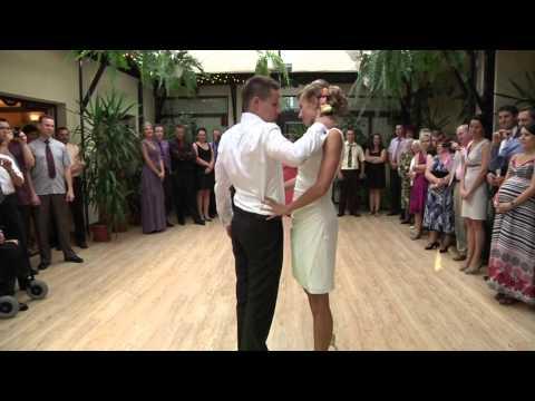 Pierwszy taniec weselny - tango - wideofilmowanie Kraków