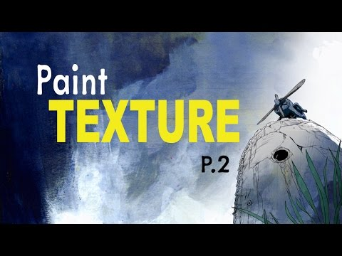 How to Add Painted Texture to Comics Demo P.2