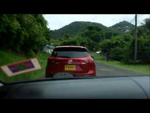 Take a Tour- Driving From St George's To Grenville St Andrews Grenada