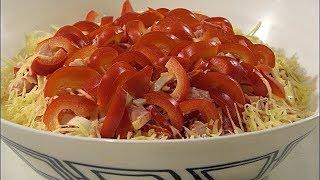 Салат КРАСНОЕ МОРЕ. Самый быстрый и вкусный салат.