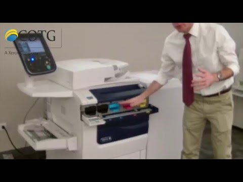 COTG Quick Solutions for Xerox Toner and Waste Toner Replacement