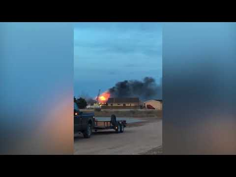 VIEWER VIDEO: House fire in Pueblo West